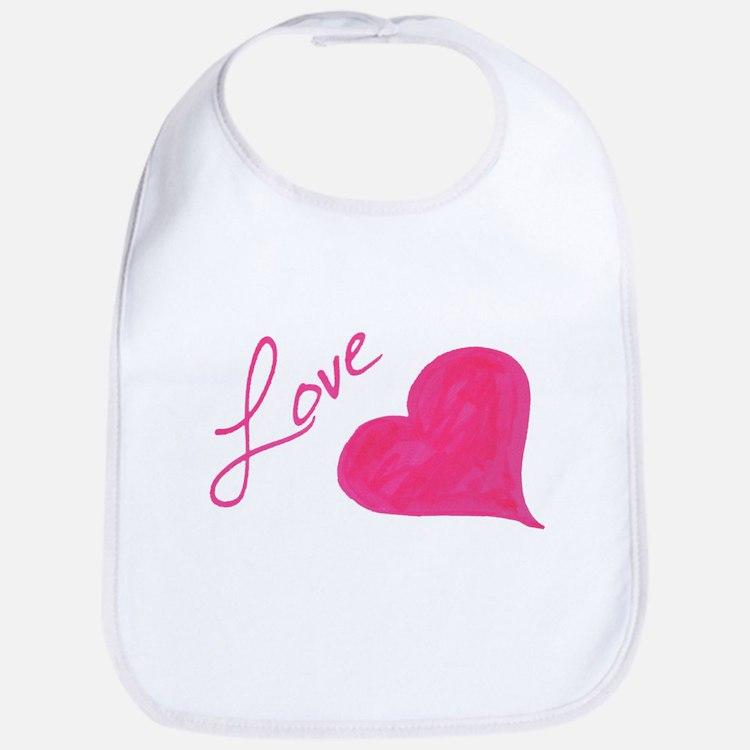 Love in Ink Bib