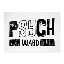 Psych Ward 5'x7'Area Rug