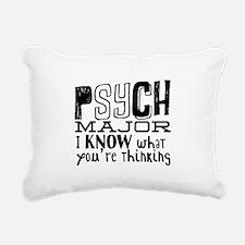 Thinking Rectangular Canvas Pillow