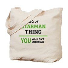 Unique Starman Tote Bag