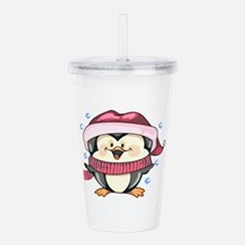 WINTER PENGUIN Acrylic Double-wall Tumbler