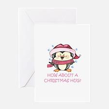 CHRISTMAS HUG? Greeting Cards