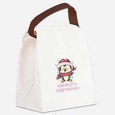 CHRISTMAS HUG? Canvas Lunch Bag