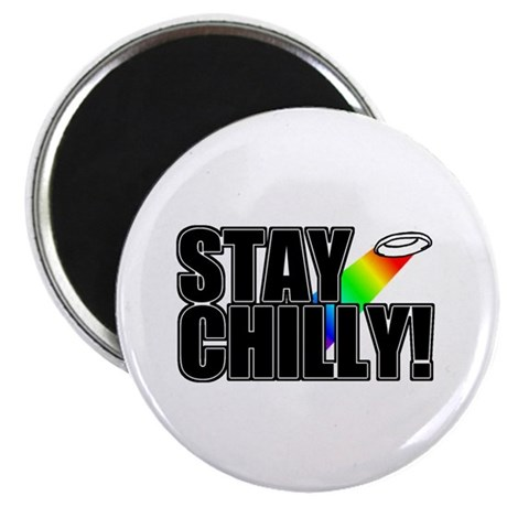 """Stay Chilly! 2.25"""" Magnet (100 pack)"""