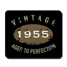 Vintage 1955 Birthday Mousepad