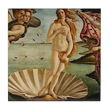Botticelli Birth Of Venus Tile Coaster