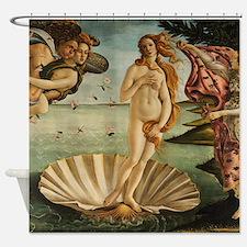 Botticelli Birth Of Venus Shower Curtain