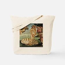 Botticelli Birth Of Venus Tote Bag