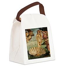 Botticelli Birth Of Venus Canvas Lunch Bag