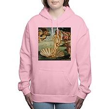 Botticelli Birth Of Venus Women's Hooded Sweatshir