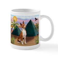 Basenji at Pyramids Mug