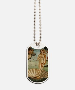 Botticelli Birth Of Venus Dog Tags