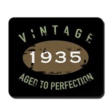 Vintage 1935 Birthday Mousepad