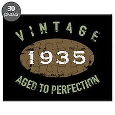 Vintage 1935 Birthday Puzzle