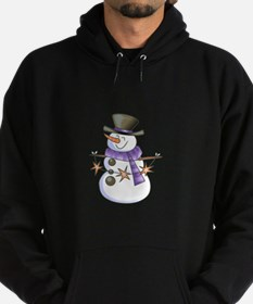 SNOWMAN WITH STAR GARLAND Hoody
