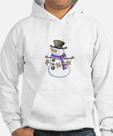SNOWMAN WITH STAR GARLAND Hoodie