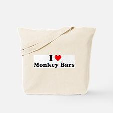 I Heart Monkey Bars Tote Bag