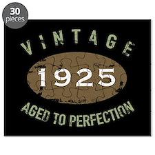 Vintage 1925 Birthday Puzzle