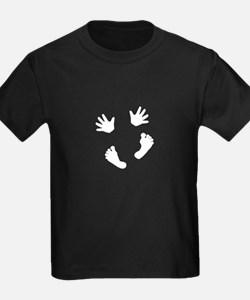 Baby Hands and Feet White T-Shirt