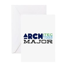 Architecture Major Greeting Cards