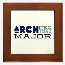 Architecture Major Framed Tile