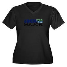 Architecture Major Plus Size T-Shirt