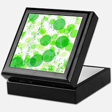 Bubbles Green Keepsake Box