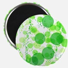 Bubbles Green Magnets