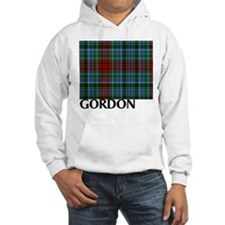 Red Gordon Tartan Jumper Hoody
