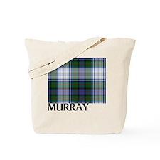 Murray Dress White Tartan Tote Bag