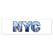 New York City (NYC) Bumper Bumper Sticker