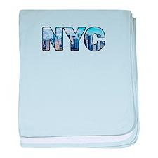 New York City (NYC) baby blanket