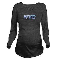 New York City (NYC) Long Sleeve Maternity T-Shirt