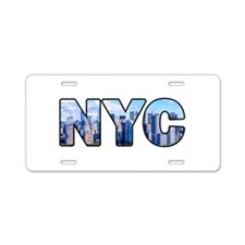 New York City (NYC) Aluminum License Plate
