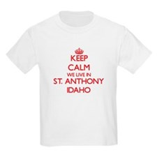 Keep calm we live in St. Anthony Idaho T-Shirt