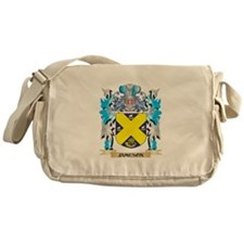 Jameson Coat of Arms - Family Crest Messenger Bag