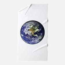 earthWesternFull.png Beach Towel