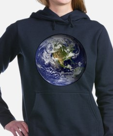 earthWesternFull.png Women's Hooded Sweatshirt