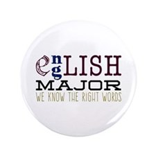 """The Right Words 3.5"""" Button"""