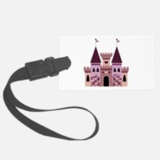 Princess Castle Luggage Tag