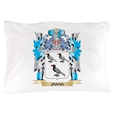Janas Coat of Arms - Family Crest Pillow Case