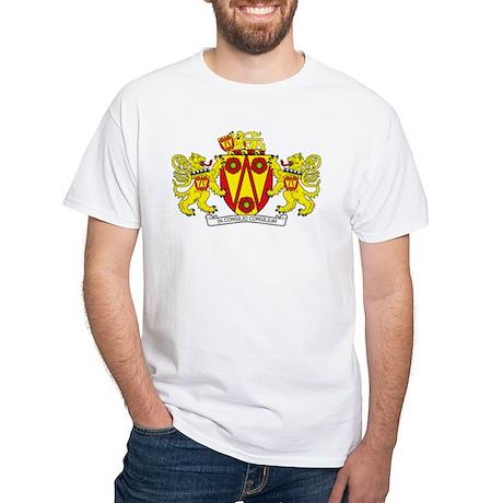 Lancashire County Council COA White T-Shirt