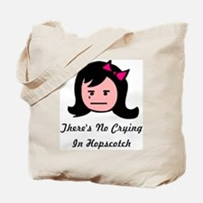 There's No Crying In Hopscotc Tote Bag
