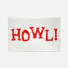 howl2 Rectangle Magnet
