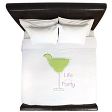 Life of the Party King Duvet
