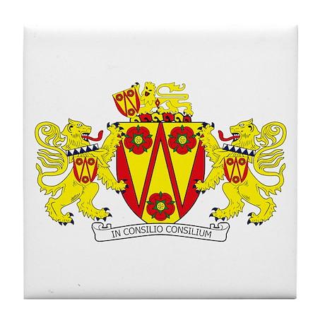 Lancashire County Council COA Tile Coaster