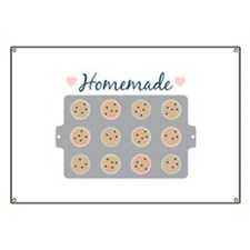 Muffin Baking Pan Homemade Banner