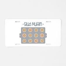 Muffin Baking Pan Stud Aluminum License Plate
