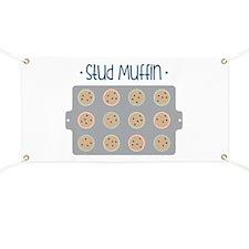 Muffin Baking Pan Stud Banner