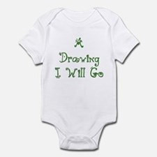 A Drawing I Will Go 4 Infant Bodysuit